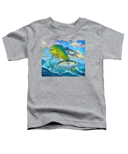 Wahoo Mahi Mahi And Tuna Toddler T-Shirt