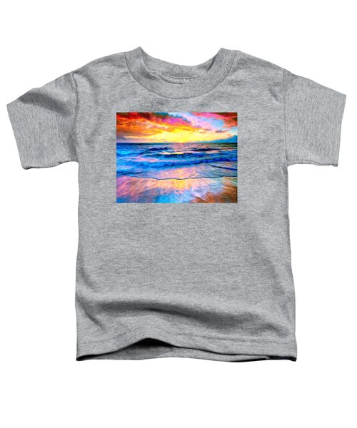 Waikoloa Sunset Toddler T-Shirt