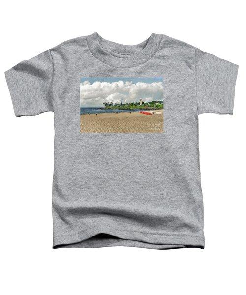 Waimea Beach Park In Hawaii Toddler T-Shirt