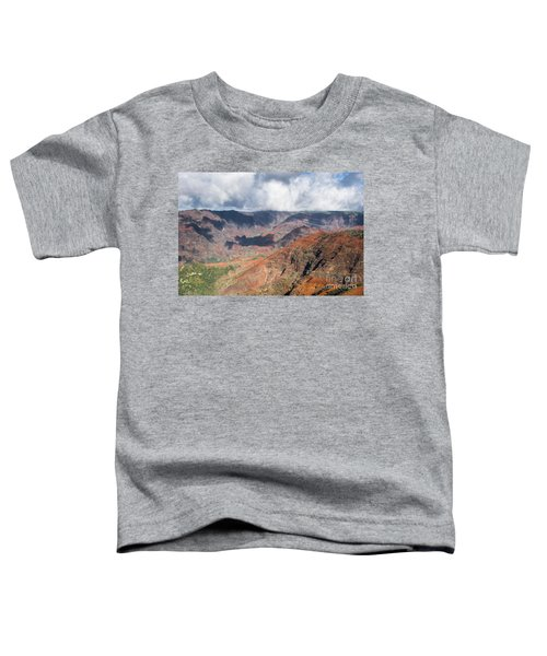 Waimea Canyon Toddler T-Shirt