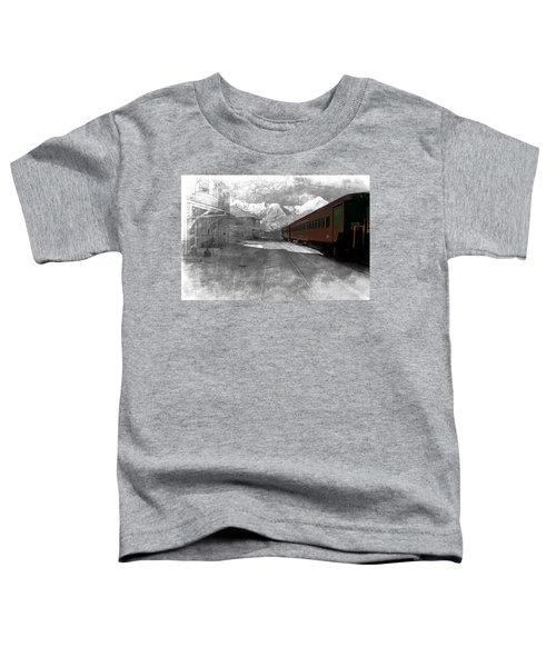 Waiting For The Take Off Toddler T-Shirt