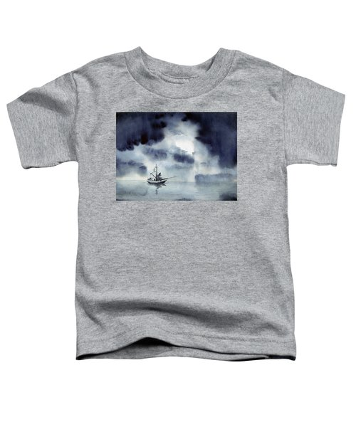 Waiting Out The Squall Toddler T-Shirt