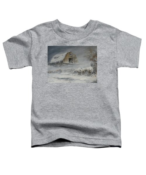 Waiting Out The Storm Toddler T-Shirt