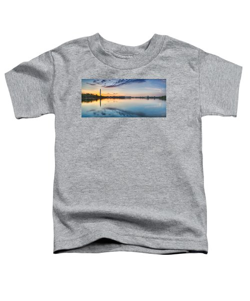 Washington Dc Panorama Toddler T-Shirt