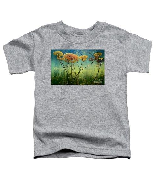 Water Lilies Toddler T-Shirt