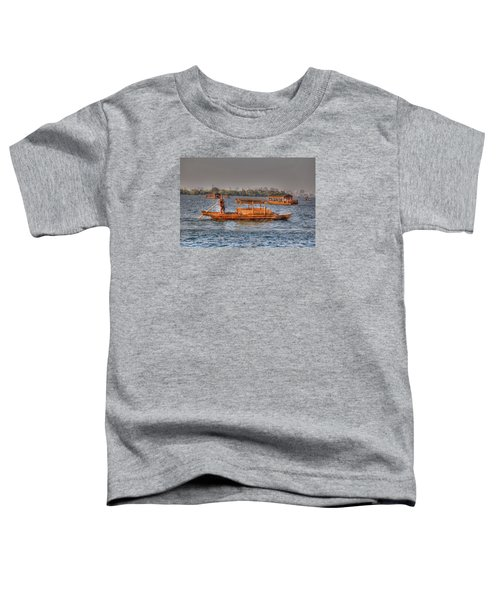 Water Taxi In China Toddler T-Shirt