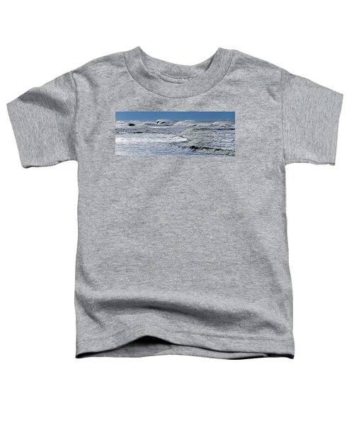 Waves Off Sandfiddler Rd Corolla Nc Toddler T-Shirt