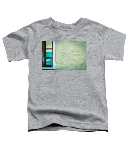 Wavy Wall With Window Toddler T-Shirt