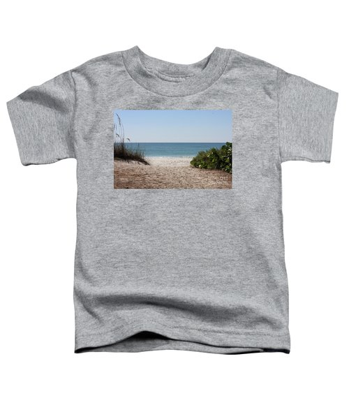 Welcome To The Beach Toddler T-Shirt