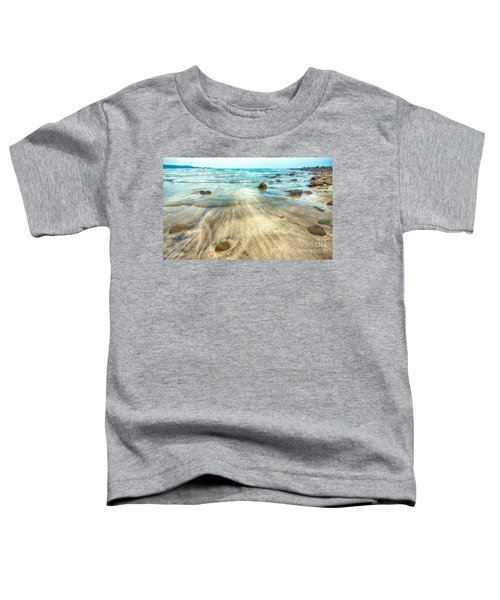 White Sand Beach Toddler T-Shirt