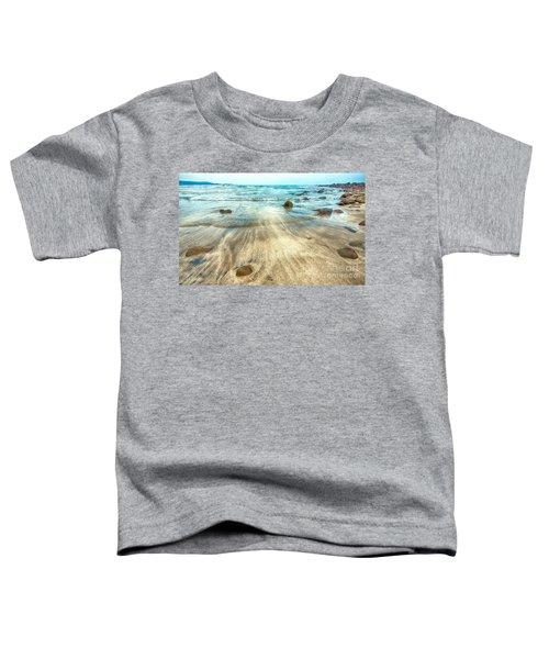 White Sand Beach Toddler T-Shirt