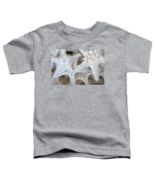 White Starfish Toddler T-Shirt