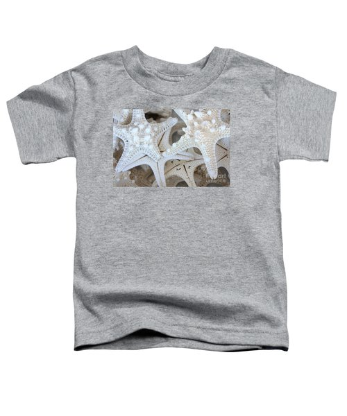 White Starfish Toddler T-Shirt
