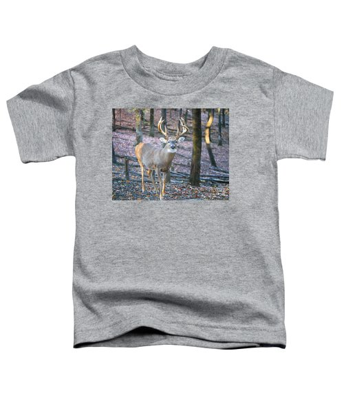 Whitetail Buck Toddler T-Shirt