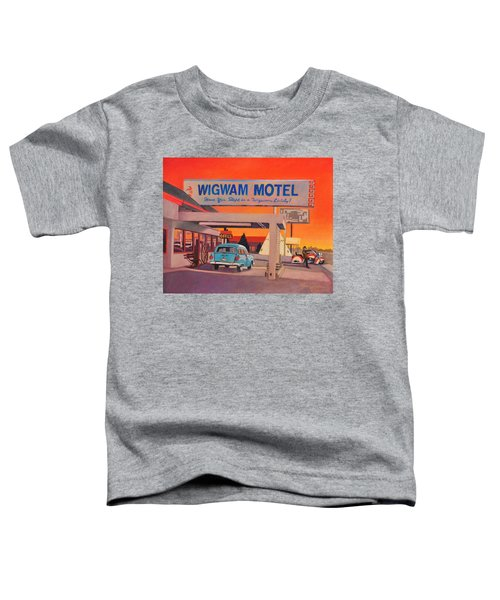 Wigwam Motel Toddler T-Shirt