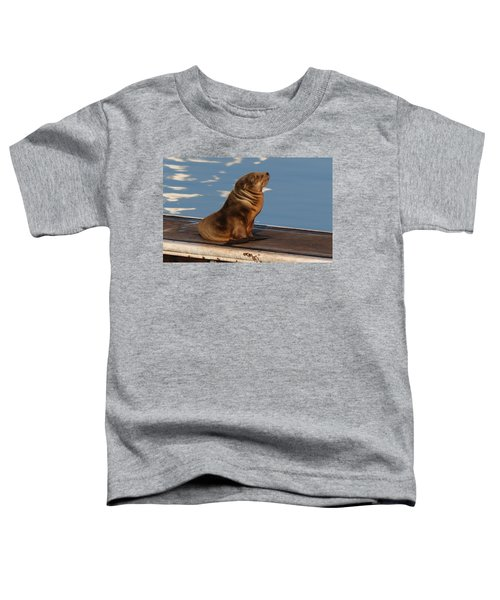Wild Pup Sun Bathing - 2 Toddler T-Shirt