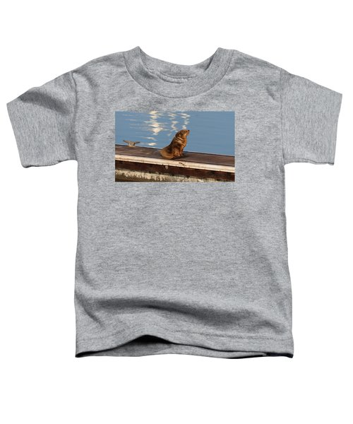 Wild Pup Sun Bathing Toddler T-Shirt