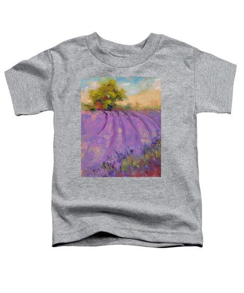 Wildrain Lavender Farm Toddler T-Shirt