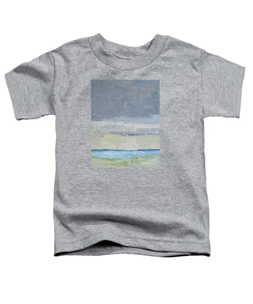 Wind And Rain On The Bay Toddler T-Shirt