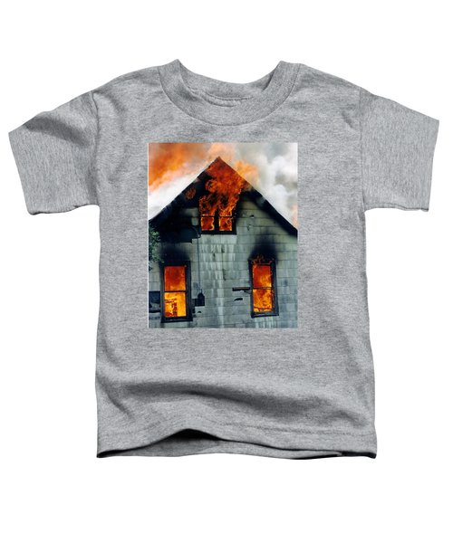 Windows Aflame Toddler T-Shirt