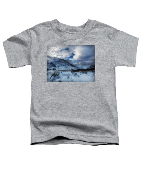 Winter At Tryfan Toddler T-Shirt