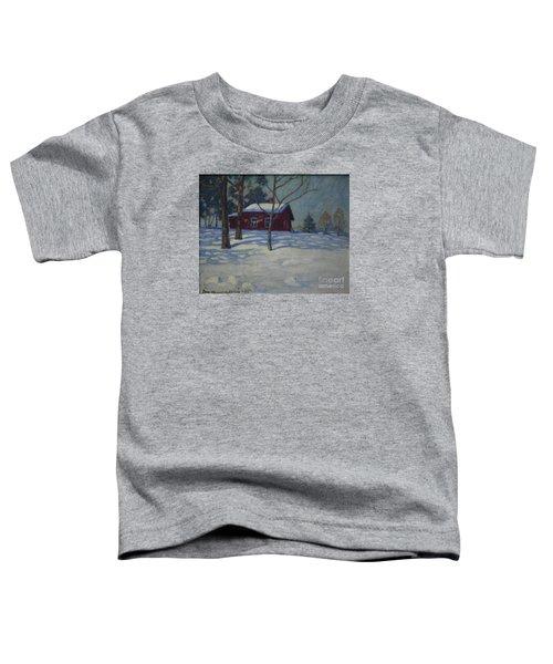 Winter House Toddler T-Shirt
