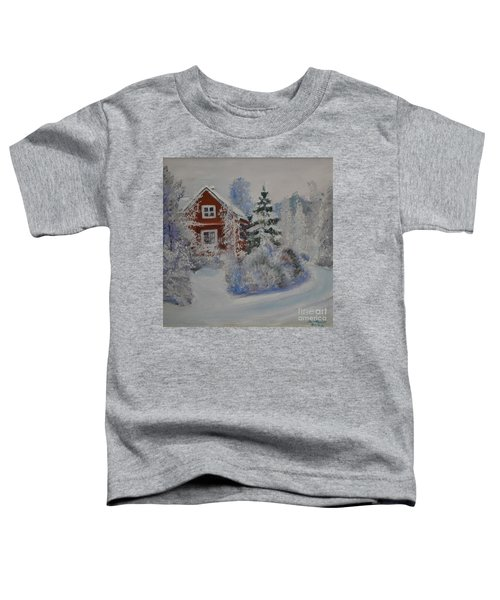 Winter In Finland Toddler T-Shirt