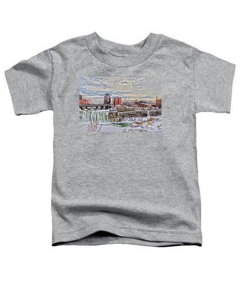 Winter In Rochester Toddler T-Shirt