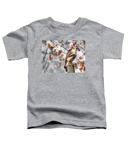 Winter Visitor  Toddler T-Shirt