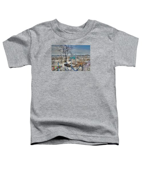 Wintery Grave Toddler T-Shirt