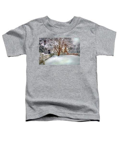 Wintry Garden Toddler T-Shirt