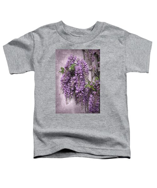 Wistful Wisteria Toddler T-Shirt