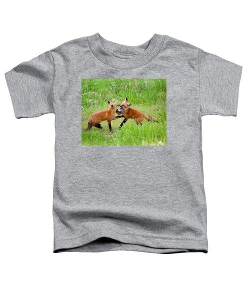With Kit Gloves Toddler T-Shirt