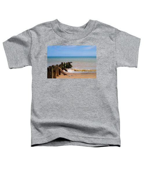 Withernsea Groynes Toddler T-Shirt