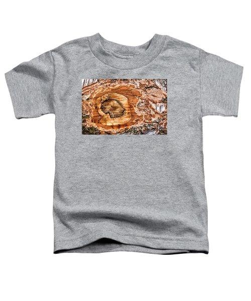 Wood Detail Toddler T-Shirt