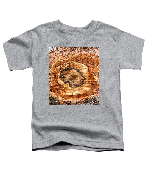 Wood Detail Toddler T-Shirt