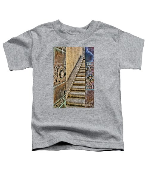 Wrigley's Bronze Doors By Diana Sainz Toddler T-Shirt