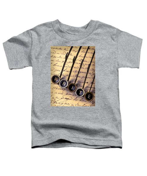 Write Toddler T-Shirt