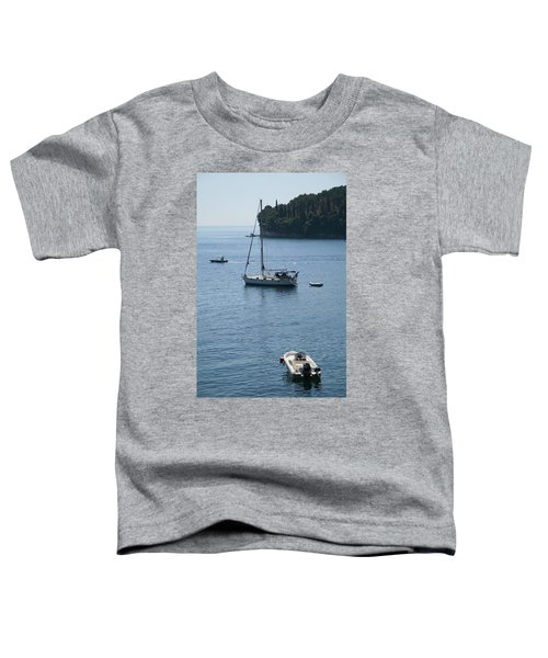 Yachts At Anchor Toddler T-Shirt