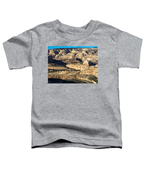 Yampa River Canyon In Dinosaur National Monument Toddler T-Shirt