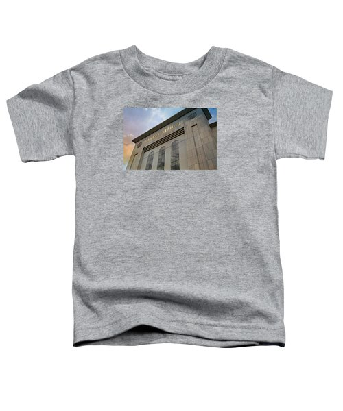 Yankee Stadium Toddler T-Shirt by Stephen Stookey