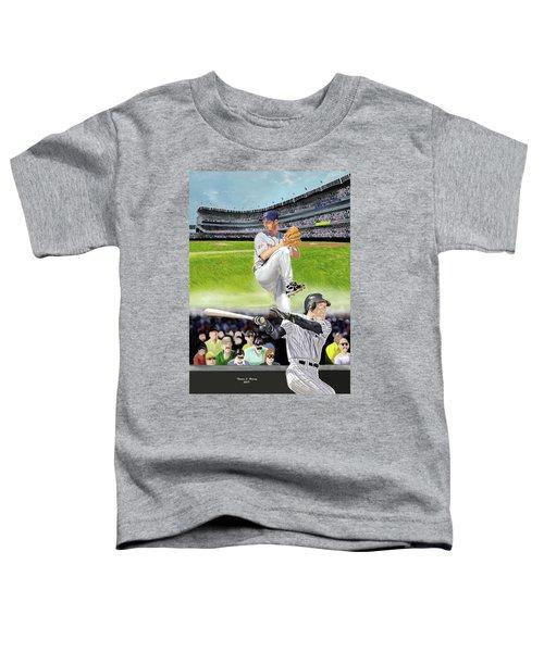 Yankees Vs Indians Toddler T-Shirt