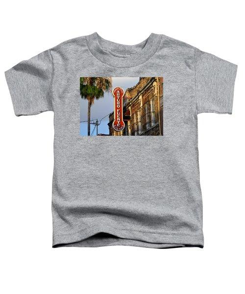 Ybor City Cigar Sign Color Work One Toddler T-Shirt