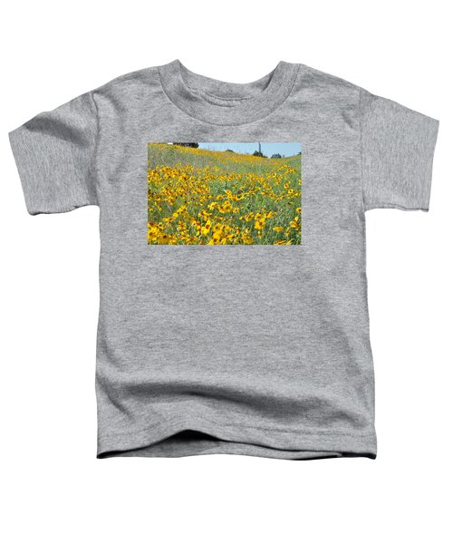 Yellow Flowers Toddler T-Shirt