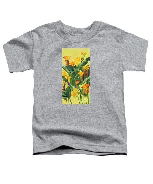 Yellow Lilies Toddler T-Shirt
