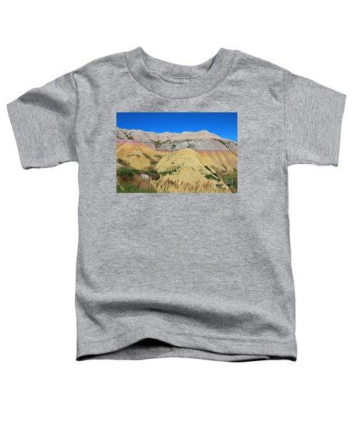 Yellow Mounds Badlands National Park Toddler T-Shirt