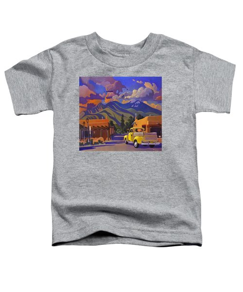 A Yellow Truck In Taos Toddler T-Shirt