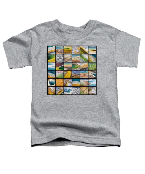 Yellowstone Colors Toddler T-Shirt
