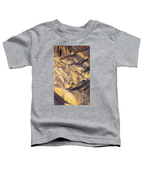 Zabriskie Color Toddler T-Shirt by Mike  Dawson
