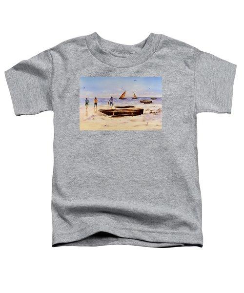 Zanzibar Forzani Beach Toddler T-Shirt